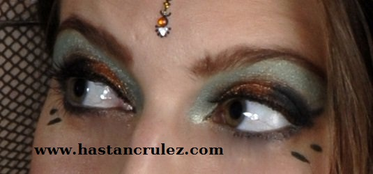 makeup tribal fusion bellydance