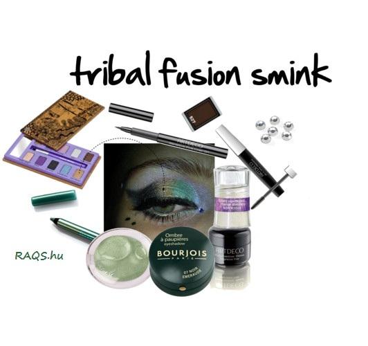 tribal fusion színpadi smink mivel készül