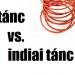 Hastánc vs. indiai tánc